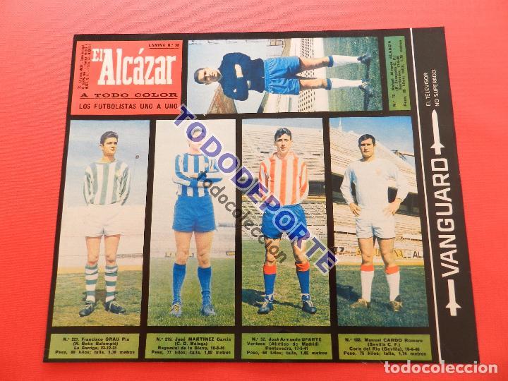 Álbum de fútbol completo: COLECCION COMPLETA CROMOS EL ALCAZAR LIGA 67/68 SIN PEGAR 1967/1968 - INCLUYE LAMINA COMPLEMENTARIA - Foto 39 - 88855064