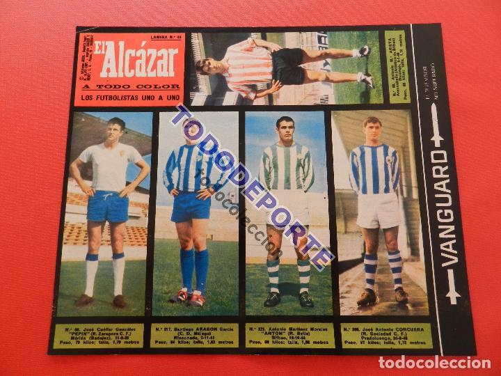 Álbum de fútbol completo: COLECCION COMPLETA CROMOS EL ALCAZAR LIGA 67/68 SIN PEGAR 1967/1968 - INCLUYE LAMINA COMPLEMENTARIA - Foto 45 - 88855064