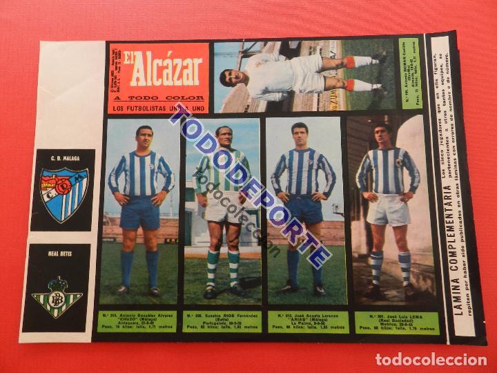 Álbum de fútbol completo: COLECCION COMPLETA CROMOS EL ALCAZAR LIGA 67/68 SIN PEGAR 1967/1968 - INCLUYE LAMINA COMPLEMENTARIA - Foto 50 - 88855064