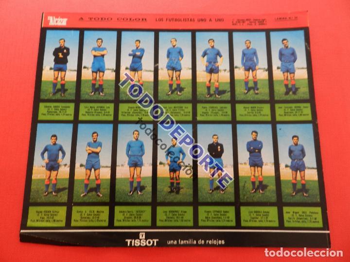 Álbum de fútbol completo: COLECCION COMPLETA CROMOS EL ALCAZAR LIGA 67/68 SIN PEGAR 1967/1968 - INCLUYE LAMINA COMPLEMENTARIA - Foto 52 - 88855064