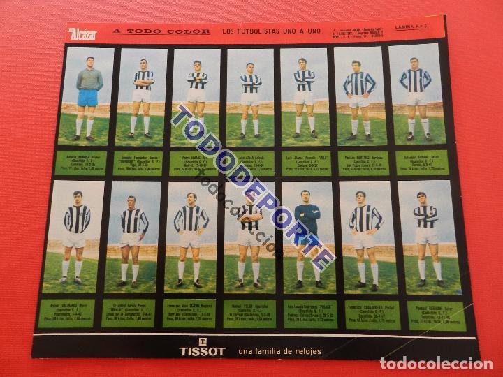 Álbum de fútbol completo: COLECCION COMPLETA CROMOS EL ALCAZAR LIGA 67/68 SIN PEGAR 1967/1968 - INCLUYE LAMINA COMPLEMENTARIA - Foto 53 - 88855064
