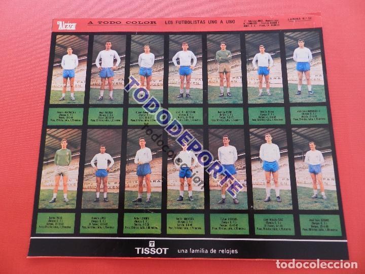 Álbum de fútbol completo: COLECCION COMPLETA CROMOS EL ALCAZAR LIGA 67/68 SIN PEGAR 1967/1968 - INCLUYE LAMINA COMPLEMENTARIA - Foto 54 - 88855064