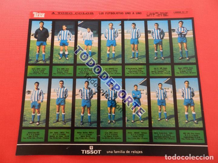 Álbum de fútbol completo: COLECCION COMPLETA CROMOS EL ALCAZAR LIGA 67/68 SIN PEGAR 1967/1968 - INCLUYE LAMINA COMPLEMENTARIA - Foto 55 - 88855064