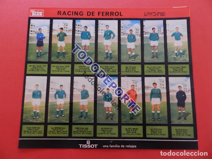 Álbum de fútbol completo: COLECCION COMPLETA CROMOS EL ALCAZAR LIGA 67/68 SIN PEGAR 1967/1968 - INCLUYE LAMINA COMPLEMENTARIA - Foto 61 - 88855064