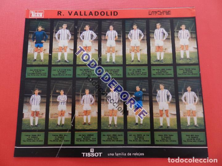 Álbum de fútbol completo: COLECCION COMPLETA CROMOS EL ALCAZAR LIGA 67/68 SIN PEGAR 1967/1968 - INCLUYE LAMINA COMPLEMENTARIA - Foto 62 - 88855064