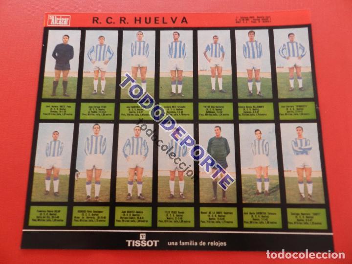 Álbum de fútbol completo: COLECCION COMPLETA CROMOS EL ALCAZAR LIGA 67/68 SIN PEGAR 1967/1968 - INCLUYE LAMINA COMPLEMENTARIA - Foto 66 - 88855064