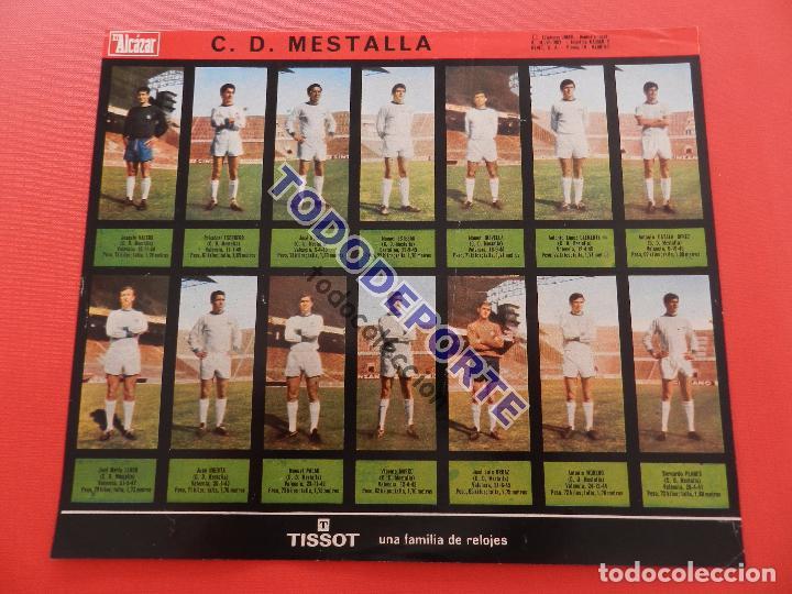 Álbum de fútbol completo: COLECCION COMPLETA CROMOS EL ALCAZAR LIGA 67/68 SIN PEGAR 1967/1968 - INCLUYE LAMINA COMPLEMENTARIA - Foto 67 - 88855064
