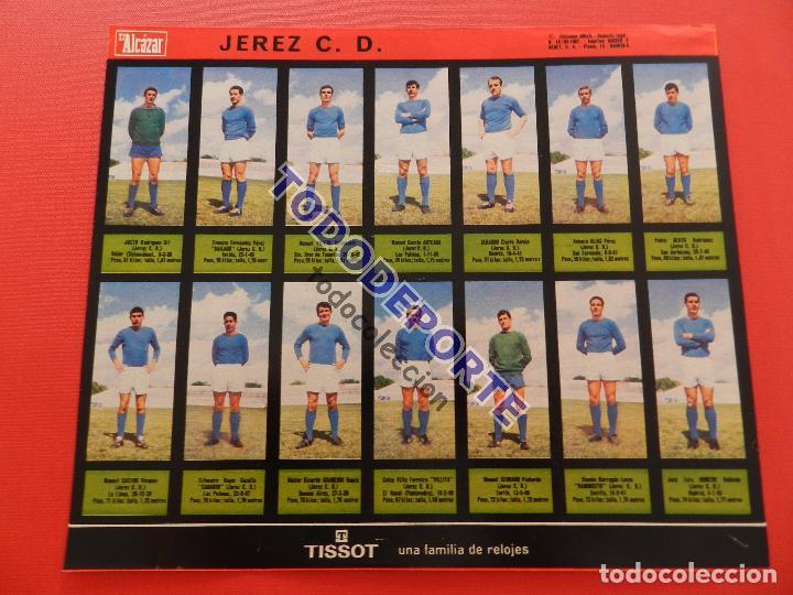 Álbum de fútbol completo: COLECCION COMPLETA CROMOS EL ALCAZAR LIGA 67/68 SIN PEGAR 1967/1968 - INCLUYE LAMINA COMPLEMENTARIA - Foto 68 - 88855064