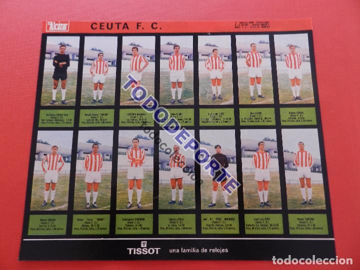 Álbum de fútbol completo: COLECCION COMPLETA CROMOS EL ALCAZAR LIGA 67/68 SIN PEGAR 1967/1968 - INCLUYE LAMINA COMPLEMENTARIA - Foto 69 - 88855064
