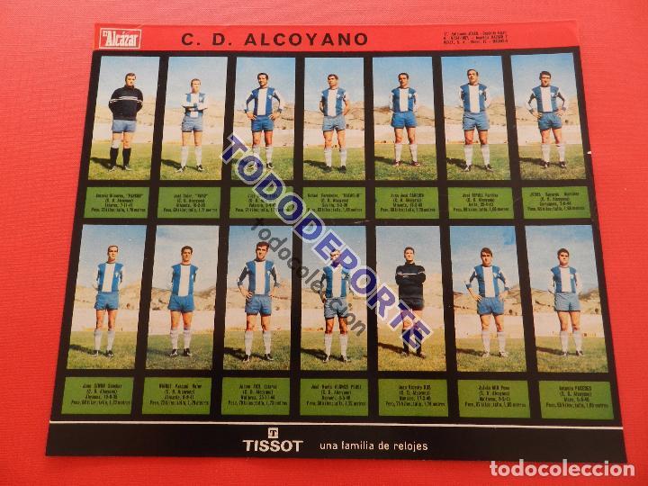 Álbum de fútbol completo: COLECCION COMPLETA CROMOS EL ALCAZAR LIGA 67/68 SIN PEGAR 1967/1968 - INCLUYE LAMINA COMPLEMENTARIA - Foto 70 - 88855064