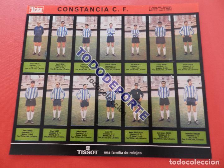 Álbum de fútbol completo: COLECCION COMPLETA CROMOS EL ALCAZAR LIGA 67/68 SIN PEGAR 1967/1968 - INCLUYE LAMINA COMPLEMENTARIA - Foto 72 - 88855064