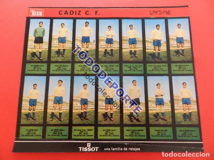 Álbum de fútbol completo: COLECCION COMPLETA CROMOS EL ALCAZAR LIGA 67/68 SIN PEGAR 1967/1968 - INCLUYE LAMINA COMPLEMENTARIA - Foto 75 - 88855064