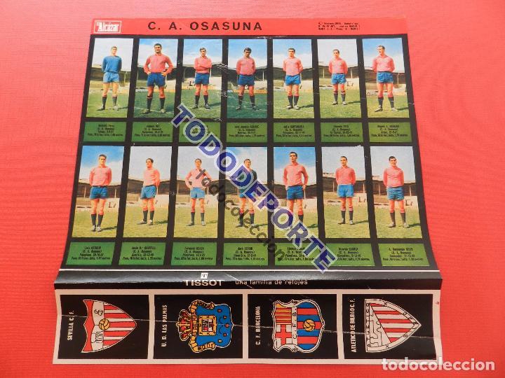 Álbum de fútbol completo: COLECCION COMPLETA CROMOS EL ALCAZAR LIGA 67/68 SIN PEGAR 1967/1968 - INCLUYE LAMINA COMPLEMENTARIA - Foto 76 - 88855064