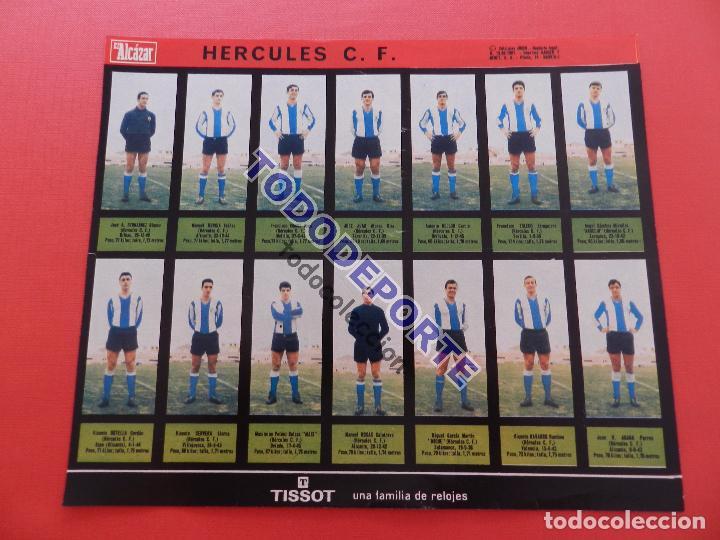 Álbum de fútbol completo: COLECCION COMPLETA CROMOS EL ALCAZAR LIGA 67/68 SIN PEGAR 1967/1968 - INCLUYE LAMINA COMPLEMENTARIA - Foto 78 - 88855064