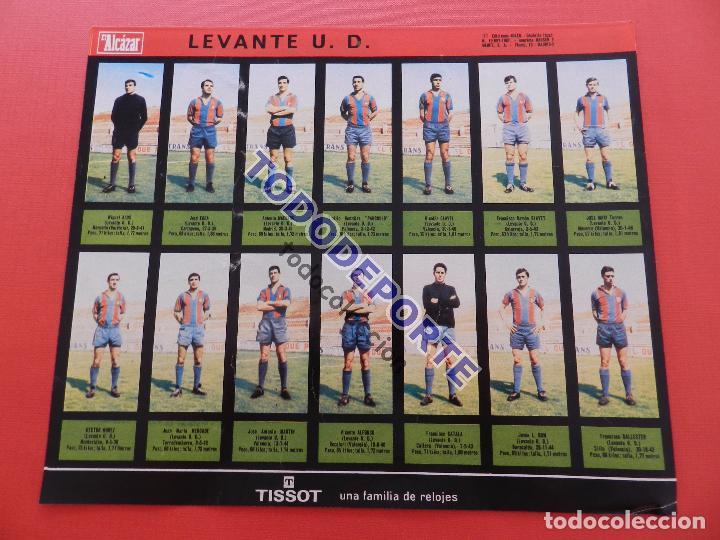 Álbum de fútbol completo: COLECCION COMPLETA CROMOS EL ALCAZAR LIGA 67/68 SIN PEGAR 1967/1968 - INCLUYE LAMINA COMPLEMENTARIA - Foto 79 - 88855064