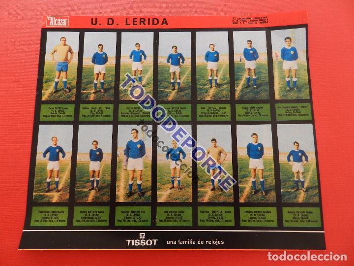 Álbum de fútbol completo: COLECCION COMPLETA CROMOS EL ALCAZAR LIGA 67/68 SIN PEGAR 1967/1968 - INCLUYE LAMINA COMPLEMENTARIA - Foto 80 - 88855064