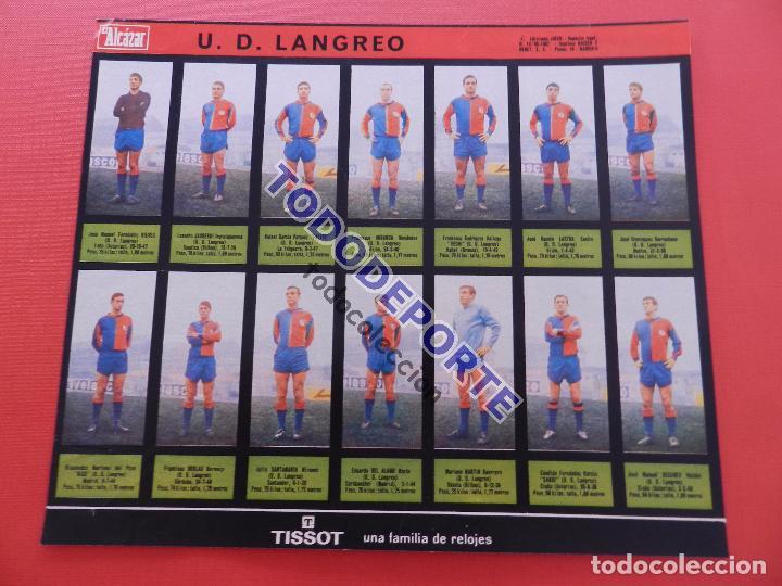 Álbum de fútbol completo: COLECCION COMPLETA CROMOS EL ALCAZAR LIGA 67/68 SIN PEGAR 1967/1968 - INCLUYE LAMINA COMPLEMENTARIA - Foto 81 - 88855064