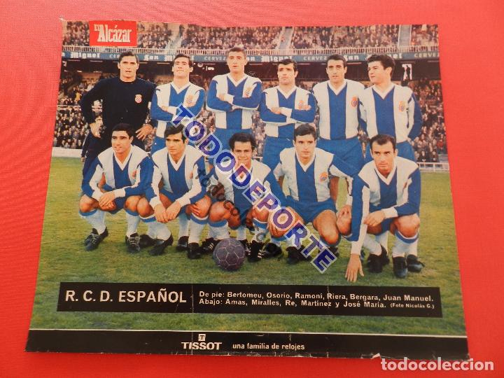 Álbum de fútbol completo: COLECCION COMPLETA CROMOS EL ALCAZAR LIGA 67/68 SIN PEGAR 1967/1968 - INCLUYE LAMINA COMPLEMENTARIA - Foto 96 - 88855064