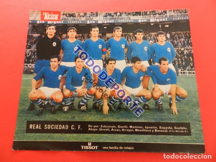 Álbum de fútbol completo: COLECCION COMPLETA CROMOS EL ALCAZAR LIGA 67/68 SIN PEGAR 1967/1968 - INCLUYE LAMINA COMPLEMENTARIA - Foto 97 - 88855064