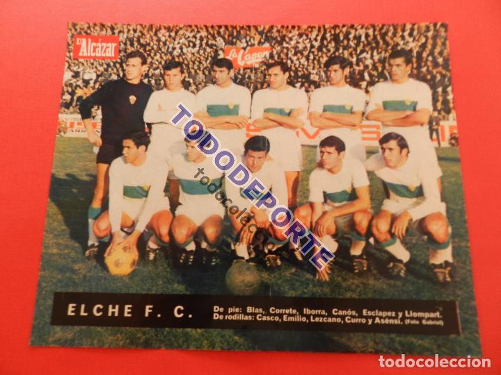 Álbum de fútbol completo: COLECCION COMPLETA CROMOS EL ALCAZAR LIGA 67/68 SIN PEGAR 1967/1968 - INCLUYE LAMINA COMPLEMENTARIA - Foto 98 - 88855064