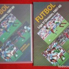 Álbum de fútbol completo: ÁLBUM FUTBOL LIGA 1987-1988 EDICIONES FESTIVAL + 300 CROMOS NUNCA PEGADOS. COLECCION COMPLETA 87-88.. Lote 52989746