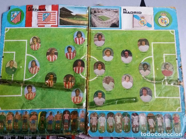 Álbum de fútbol completo: Album cromos Futbol Maga 1975-1976. Muy tocado. Completo. Ver fotos - Foto 2 - 89808492