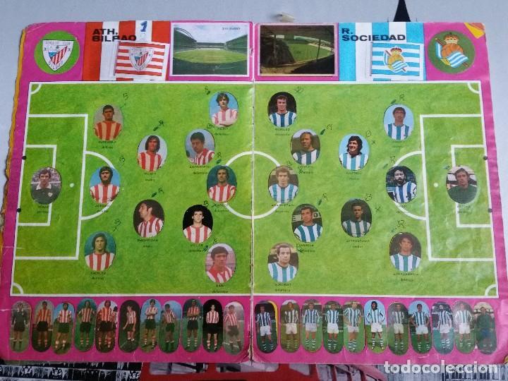 Álbum de fútbol completo: Album cromos Futbol Maga 1975-1976. Muy tocado. Completo. Ver fotos - Foto 4 - 89808492