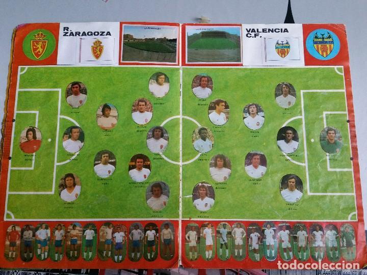 Álbum de fútbol completo: Album cromos Futbol Maga 1975-1976. Muy tocado. Completo. Ver fotos - Foto 6 - 89808492