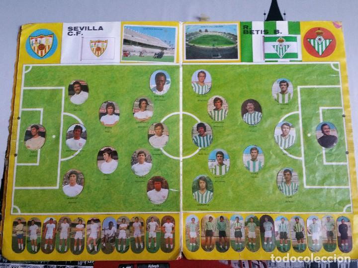 Álbum de fútbol completo: Album cromos Futbol Maga 1975-1976. Muy tocado. Completo. Ver fotos - Foto 7 - 89808492