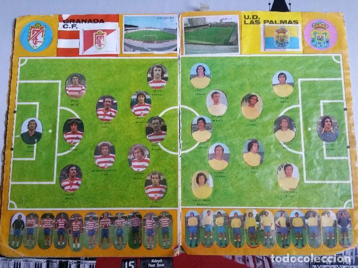 Álbum de fútbol completo: Album cromos Futbol Maga 1975-1976. Muy tocado. Completo. Ver fotos - Foto 9 - 89808492