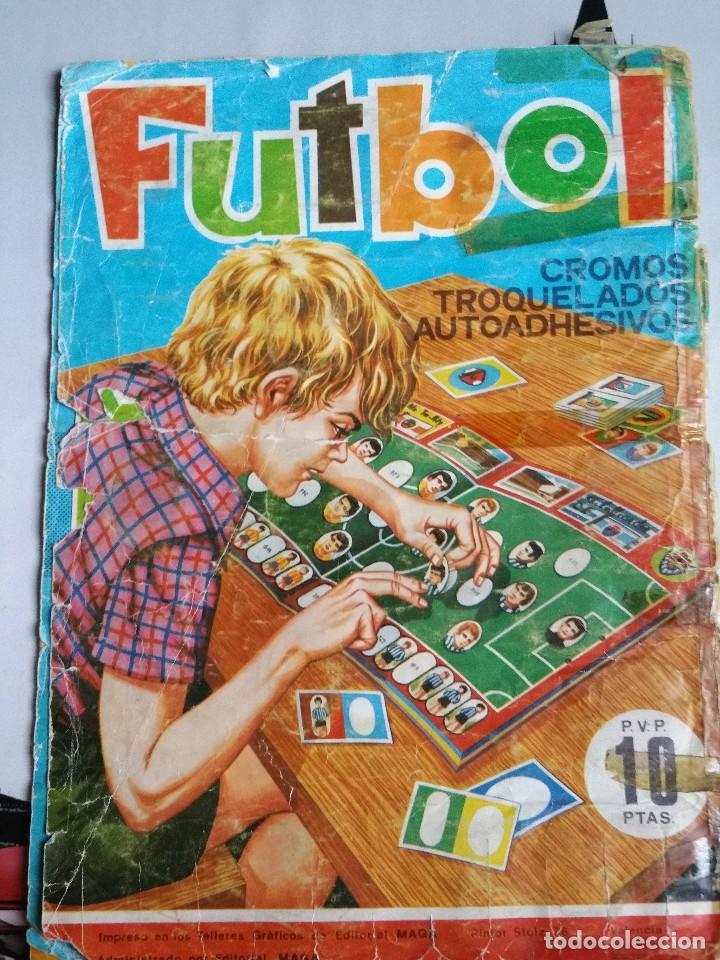 Álbum de fútbol completo: Album cromos Futbol Maga 1975-1976. Muy tocado. Completo. Ver fotos - Foto 11 - 89808492