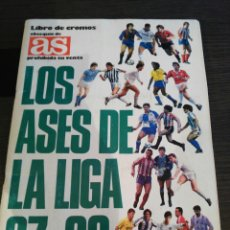 Álbum de fútbol completo: ALBUM DE FÚTBOL LOS ASES DE LA LIGA 87 88. Lote 92319919