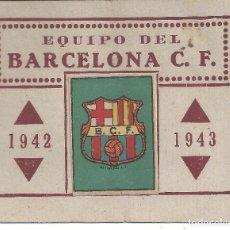 Álbum de fútbol completo: CROMO ALBUM EQUIPO FC FC FUTBOL CLUB BARCELONA BARÇA 1942 1943 (2). Lote 90997185