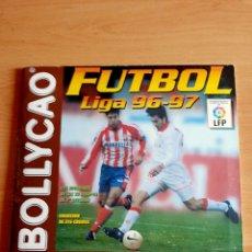 Álbum de fútbol completo: ÁLBUM DE CROMOS BOLLYCAO FÚTBOL LIGA 96-97 - COMPLETO CON COLOCA. Lote 91129400