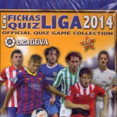 Álbum de fútbol completo: FÚTBOL COLECCION PLATINUM MUNDICROMO QUIZ GAME 2013 2014 COMPLETA CON ÁLBUM ANILLAS. Lote 92167745