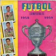 Álbum de fútbol completo: FUTBOL CAMPEONATO 1958 - 1959, EXCELSIR COMPLETO,. Lote 92242460