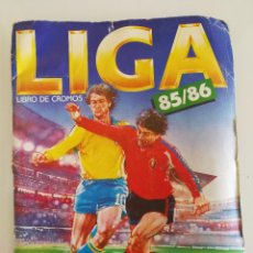 Álbum de fútbol completo: ALBUM FÚTBOL LIGA ESTE 85 86. Lote 92245520