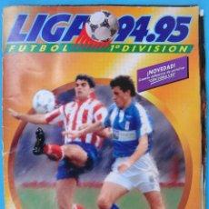 Álbum de fútbol completo: ALBUM FUTBOL , LIGA 1994 1995 94 95 ,COMPLETO, ESTE , CON 98 CROMOS DOBLES , VER FOTOS,ORIGINAL , C2. Lote 92919065