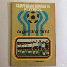 Álbum de fútbol completo: ÁLBUM CAMPEONATO MUNDIAL DE FÚTBOL ARGENTINA 1978 COMPLETO + SOBRE VACÍO . Lote 93645790