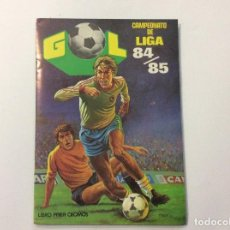 Álbum de fútbol completo: ÁLBUM CAMPEONATO DE LIGA 84/85 COMPLETO + SOBRE VACÍO . Lote 93762140