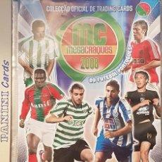 Álbum de fútbol completo: PANINI CARDS MEGACRAQUES 2008 PORTUGAL COLECCIÓN COMPLETA. Lote 94070670