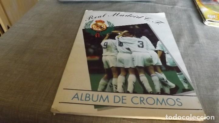 MAGIC BOX REAL MADRID 1994-95 ALBUM COMPLETO (Coleccionismo Deportivo - Álbumes y Cromos de Deportes - Álbumes de Fútbol Completos)