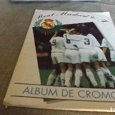 Álbum de fútbol completo: MAGIC BOX REAL MADRID 1994-95 ALBUM COMPLETO. Lote 94146710