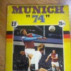 Álbum de fútbol completo: MUNICH 74. MUNDIAL DE FÚTBOL. Lote 94564415