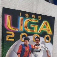 Álbum de fútbol completo: 99/00 ESTE. ALBUM MUY COMPLETO DOBLES BAJA COLOCA FICHAJE BIS JANDRO RUBIO. LEER DESCRIPCIÓN . Lote 94718671