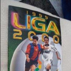 Álbum de fútbol completo: 99/00 ESTE. ALBUM CASI PLANCHA COMPLETO CON JANDRO RUBIO MÁS 80 CROMOS NUNCA PEGADO. LEER. Lote 94728531