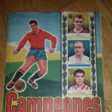 Álbum de fútbol completo: ALBUM CAMPEONES 1958, DE BRUGUERA 1957 -1958, COMPLETO. Lote 94847699