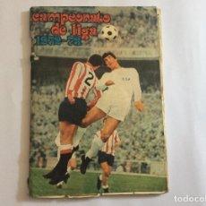 Álbum de fútbol completo: ÁLBUM CAMPEONATO DE LIGA 1972-73 CON POSTER. Lote 94857283