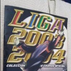Álbum de fútbol completo: 03/04 ESTE. ALBUM BASTANTE COMPLETO CON MAYORÍA DE FICHAJES. DOBLES, COLOCAS. LEER DESCRIPCIÓN . Lote 94933983