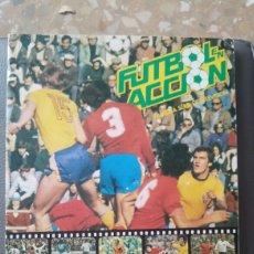 Álbum de fútbol completo: ALBUM FUTBOL EN ACCION COMPLETO. Lote 95129026